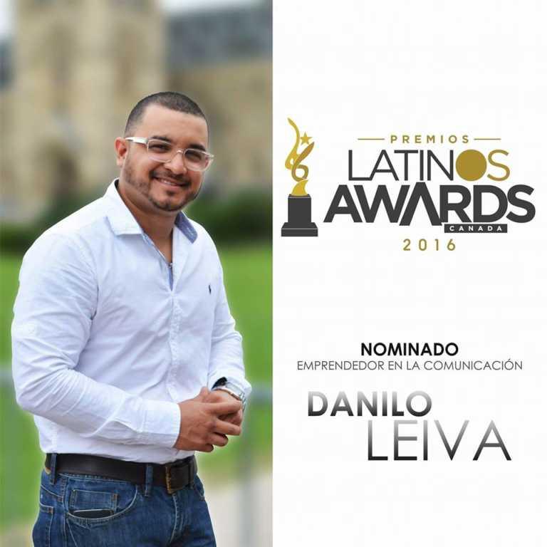 """Locutor hondureño es nominado en """"Latin Awards Canadá 2016"""""""