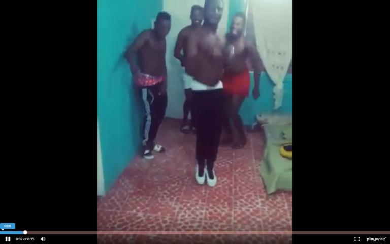 ¡Jugadores del Olimpia, bailan al estilo Neymar!