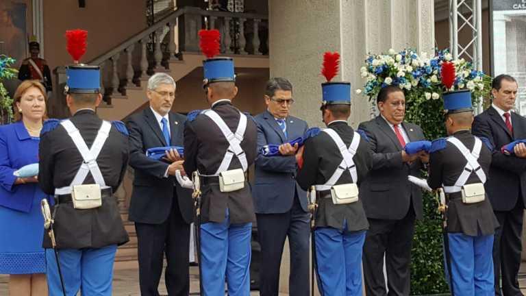 JOH inauguró las fiestas patrias este 1 de septiembre