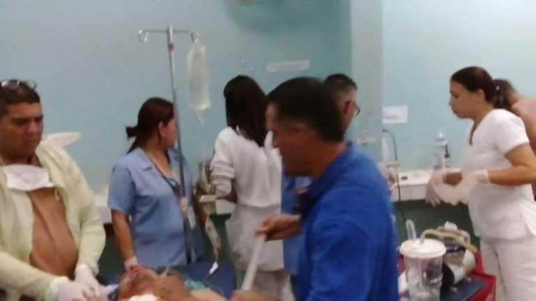 Comayagua: Enjambre de avispas ataca a empleados de la EEH