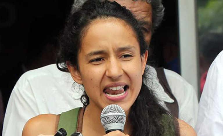 Hija de Berta Cáceres exige mayor celeridad de la justicia
