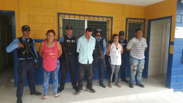 distribuidores de droga en San Pedro Sula