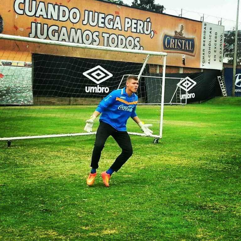 """Javier Delgado: """"Me enteré del llamado a la selección por un compañero"""""""