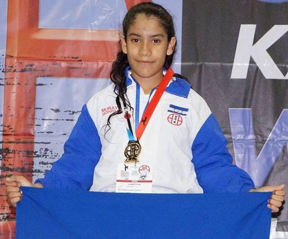Niña hondureña gana campeonato mundial