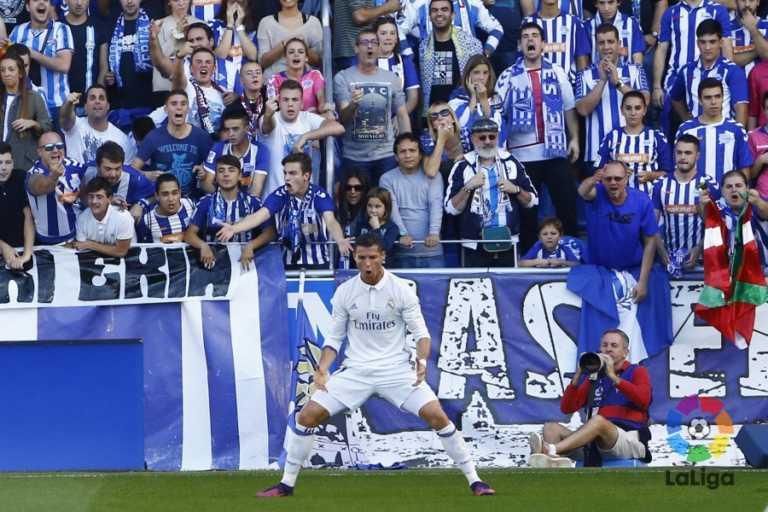 Triplete de Cristiano Ronaldo le da triunfo al Real Madrid