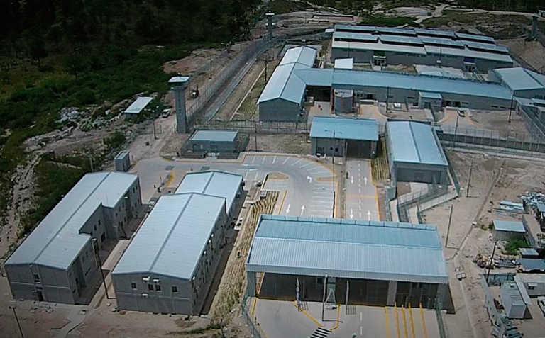 """Casi lista """"La Tolva"""" para recibir 1,400 nuevos reos en Morocelí"""