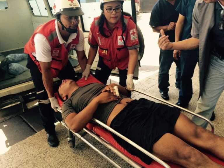 Dos accidentados ingresan a la emergencia del Hospital Escuela