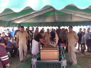 Funeral de periodista