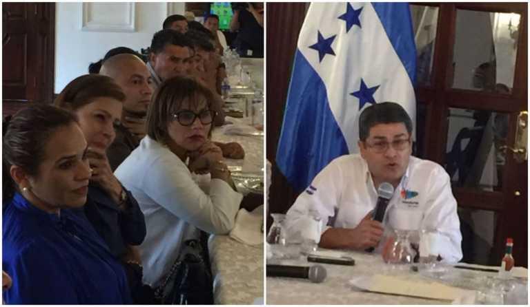 Alcaldes y diputados de La Paz le piden a JOH que busque la reelección