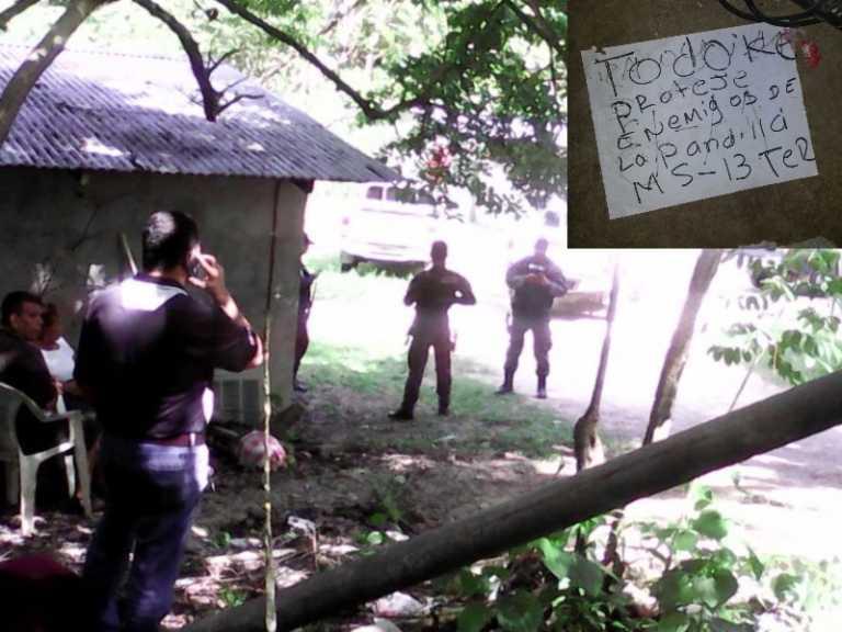 Dejan nota en el cuerpo del coronel apuñalado en motel en Yoro