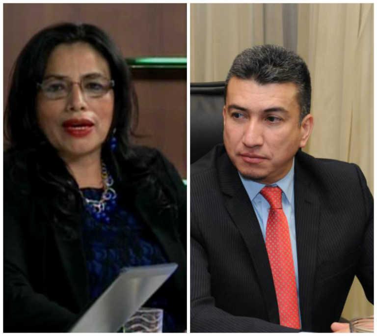 Inspectora de Órganos Judiciales denuncia a Rolando Argueta