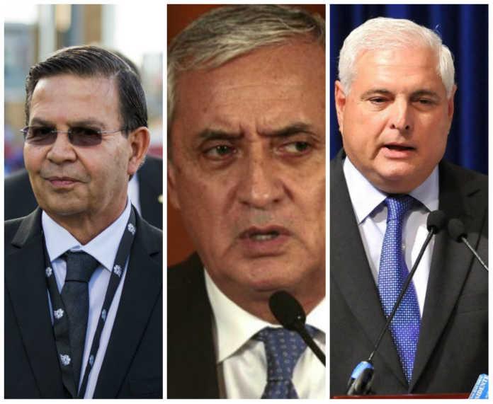 presidentes en Centroamérica