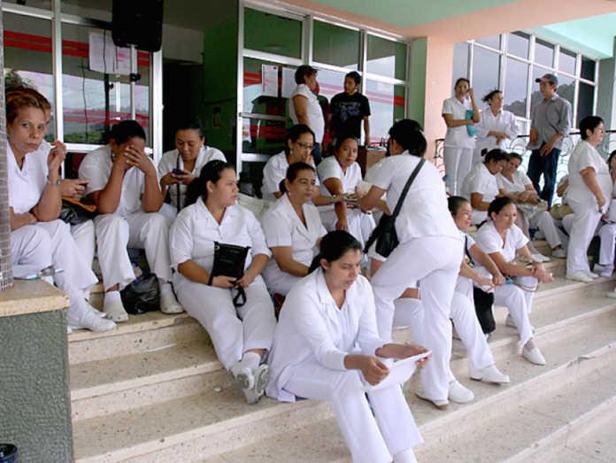 Enfermeras en Honduras