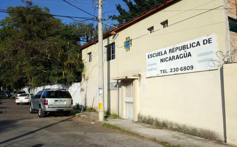 Denuncian posible cierre de Escuela Nicaragua en Tegucigalpa