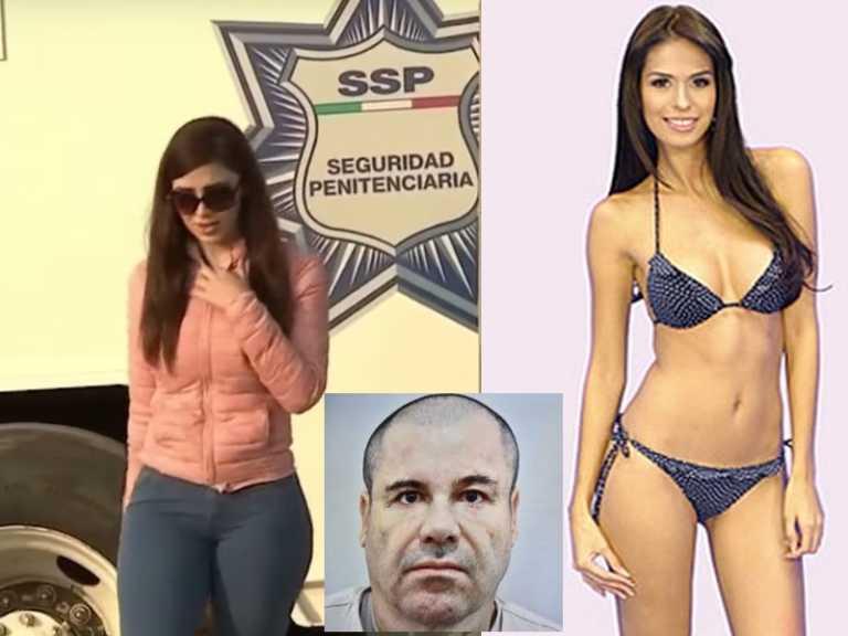 """Esposa de Joaquín """"El Chapo"""" Guzmán viaja a EE.UU para defenderlo"""