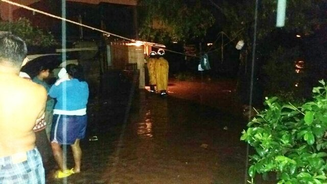 Lluvias en Tegucigalpa