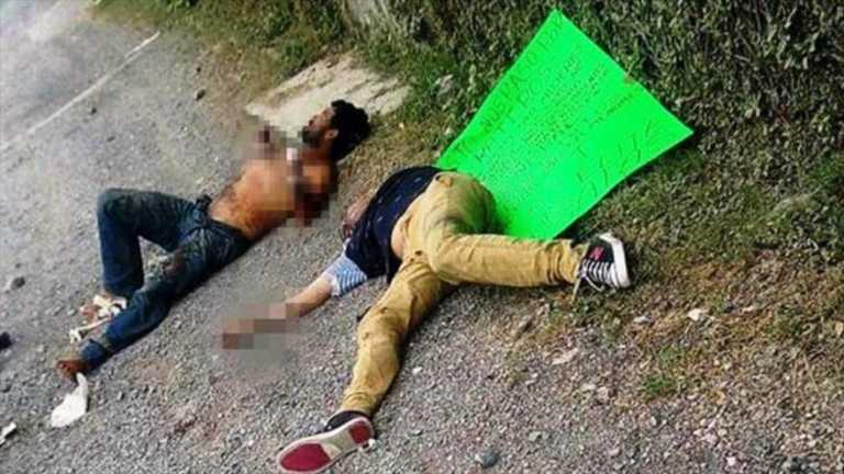 Grupo mexicano de élite 'antirratas' le corta las manos a seis ladrones