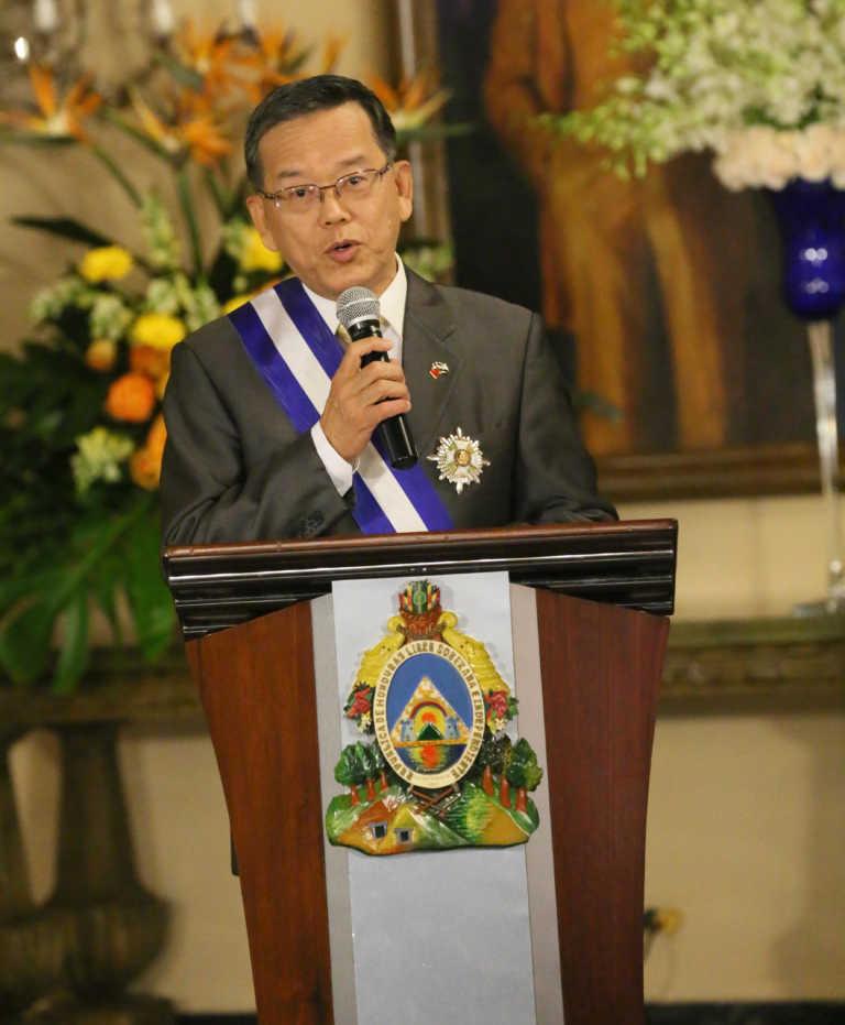 Embajador de China Taiwán se despide con profundos sentimientos hacia Honduras