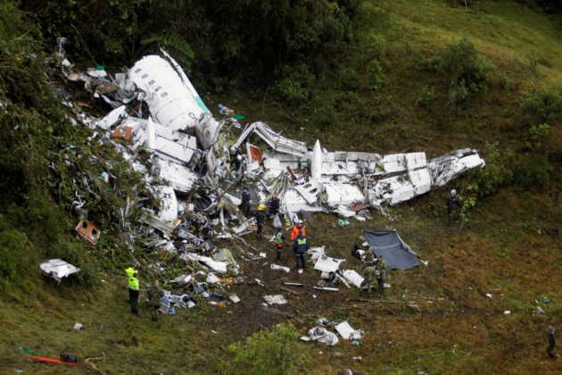 Impactantes imágenes del accidente aéreo