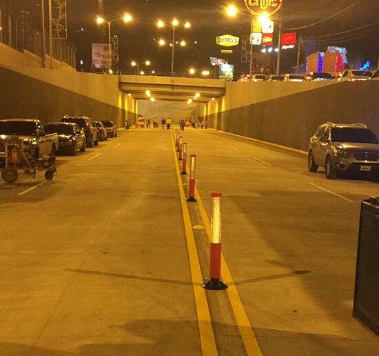 Habilitado paso de túnel y rotonda en el bulevar Juan Pablo II en Tegucigalpa