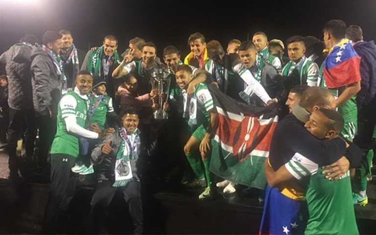 Cosmos de Nueva York campeones de la NASL