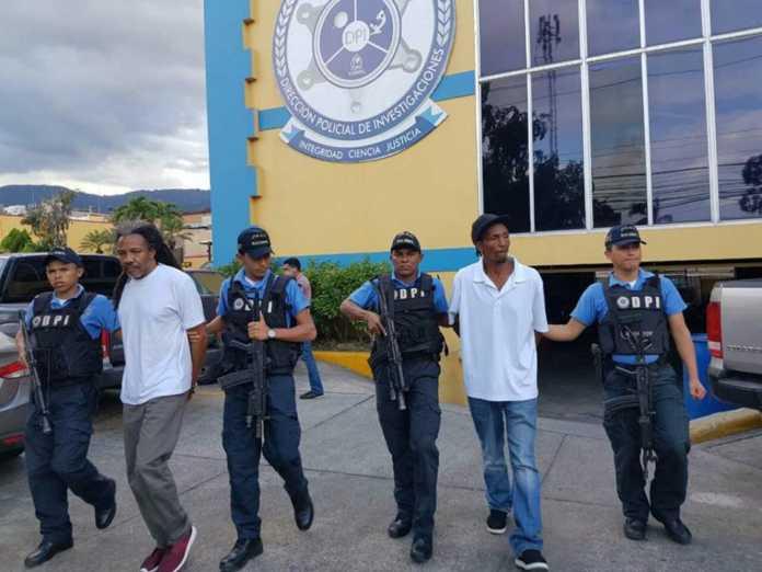 estadounidenses detenidos en Honduras