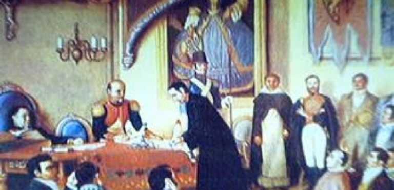 Esta fecha en 1838: Honduras se separa de Federación Centroamericana