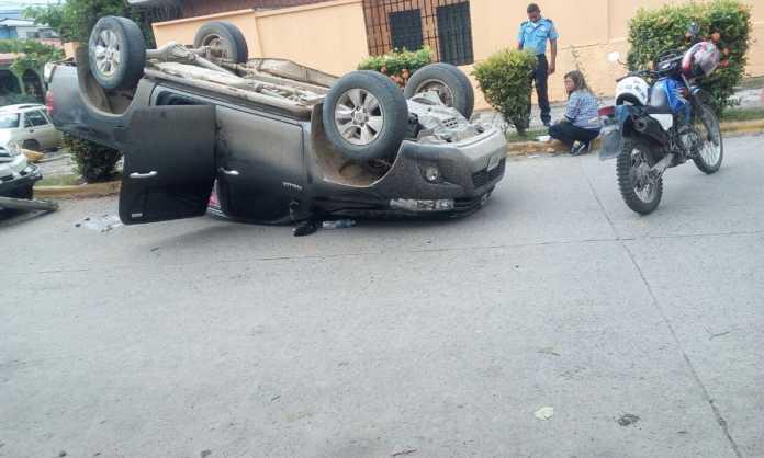 Accidente en Colonia Smith