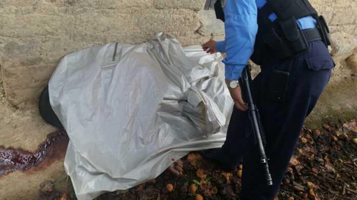 Reportan cadáver de ciudadano en Siguatepeque