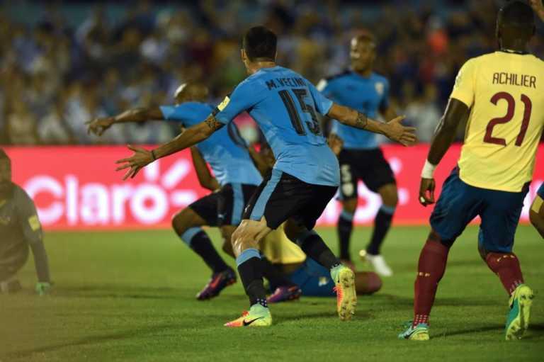 Uruguay doblegó a los ecuatorianos en Montevideo