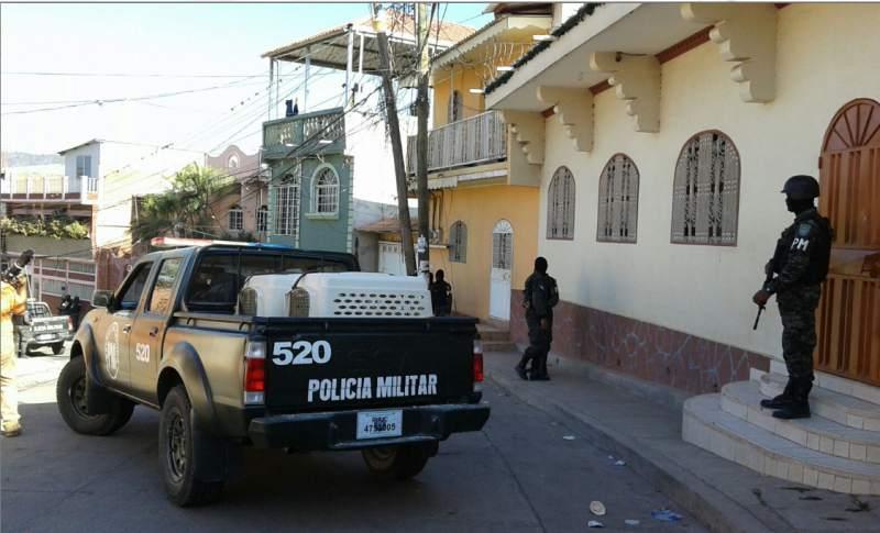 Avalancha en Honduras.