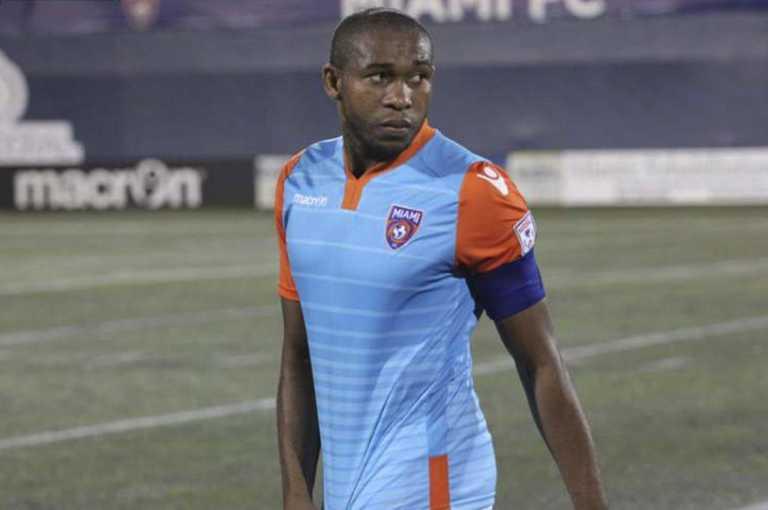 El hondureño Wilson Palacios fuera del Miami FC de la NASL