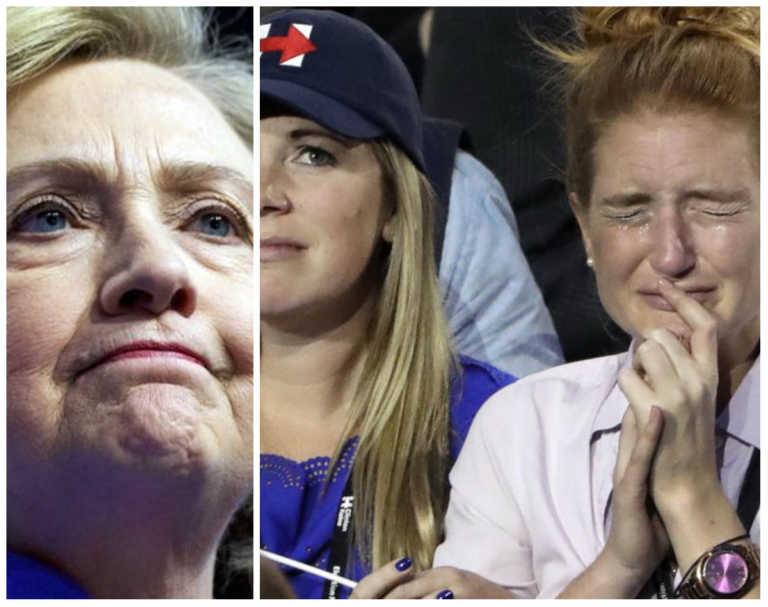 Tres estados del 'cinturón de acero' le fallaron a Hillary Clinton