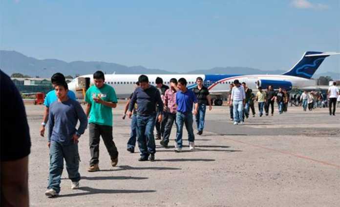 Deportaciones de hondureños