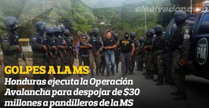 Operaciòn Avalancha en Honduras