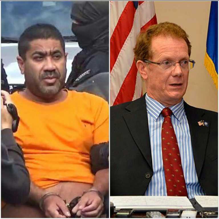 Embajador James Nealon alaba detención de Wilter Blanco