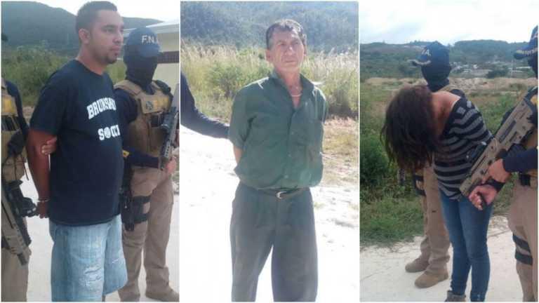 FNA captura a tres presuntos extorsionadores en Tegucigalpa