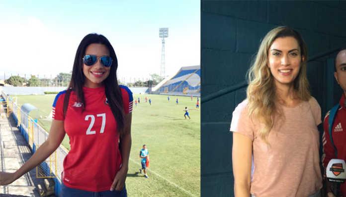 Nicolle Ferguson y Alessandra Mezquita