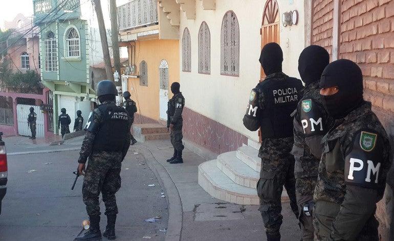 Operación Avalancha en Honduras