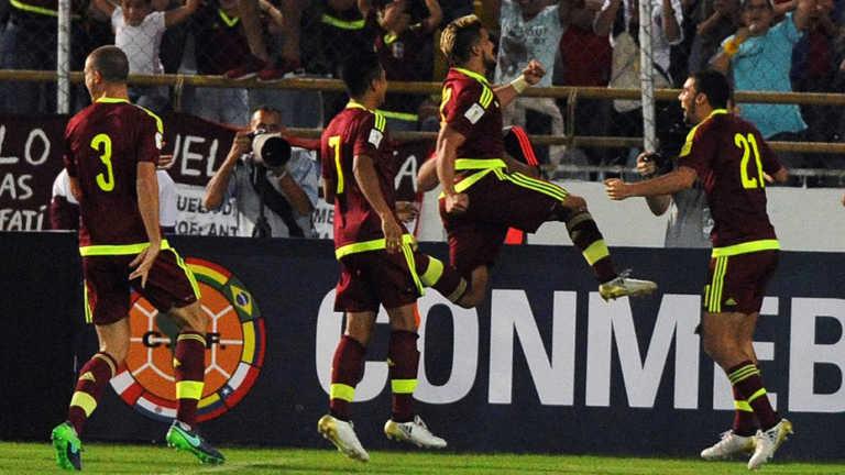Venezuela goleó a Bolivia, Tabla de posiciones de Eliminatorias