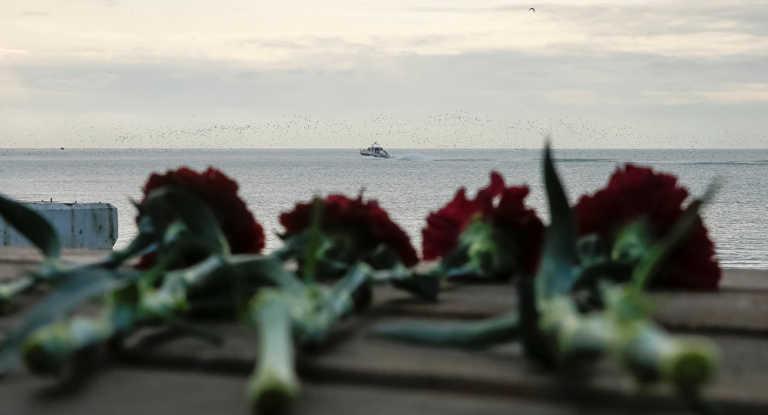 Localizan grandes fragmentos del Tu-154 siniestrado en el Mar Negro
