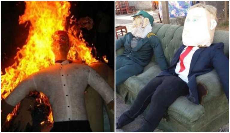 ¿De dónde viene la tradición de la quema del año viejo?