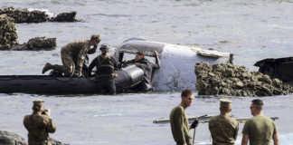 Avión militar de EEUU.