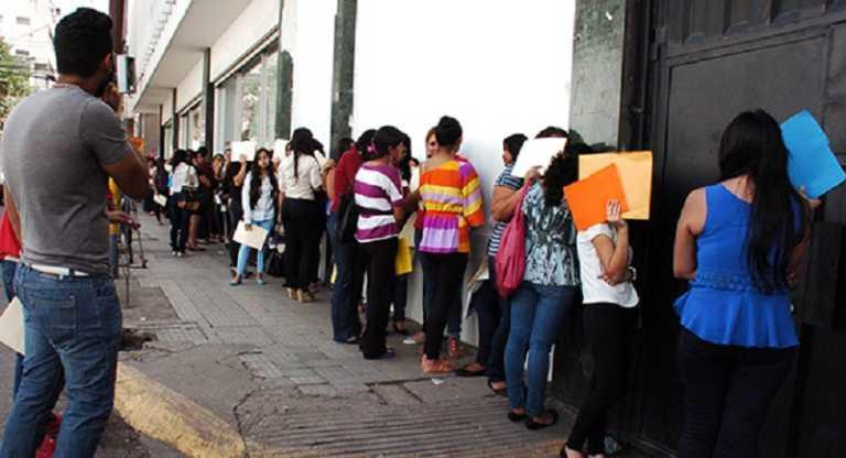 """Un 7.4 % de hondureños entran en la categoría """"Desocupados"""""""