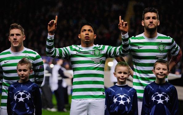 Celtic y Manchester City empataron en Champions League