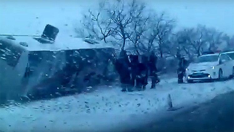 10 niños muertos y cerca de 20 hospitalizados tras accidente en Rusia