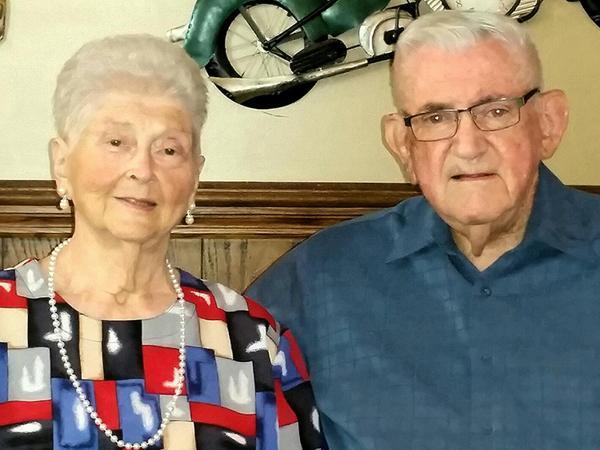 Margaret y Don Livengood. Vivieron juntos 59 años. Murieron tomados de la mano