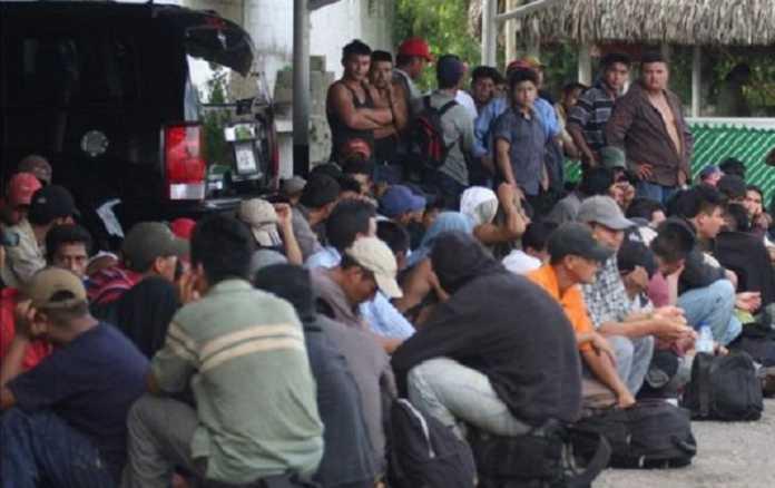 110 migrantes son detenidos en la zona sur de Honduras