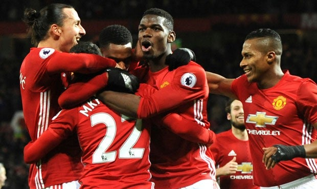 Manchester United 2-1 Middlesbrough: Martial y Pogba remontan 'in-extremis'