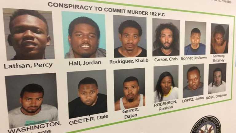 Caen pandilleros que amenazaron con matar a cien personas en Los Ángeles